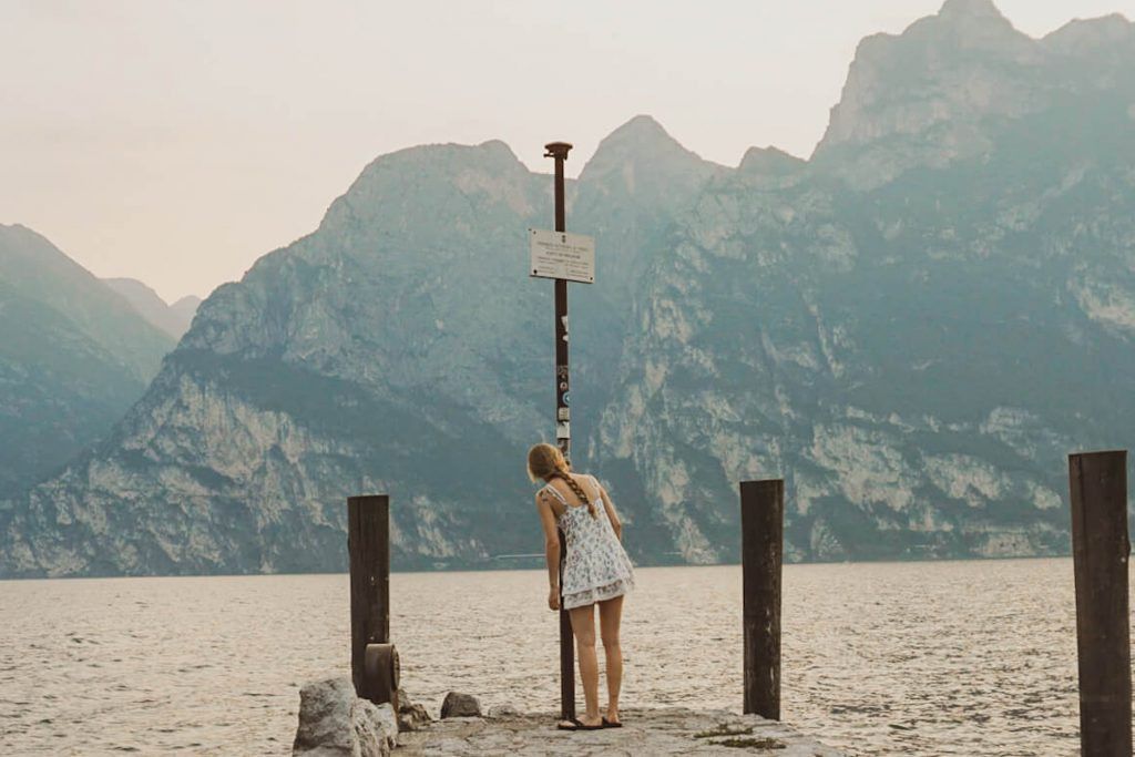 Ich mache mich auf meine erste Reise alleine.