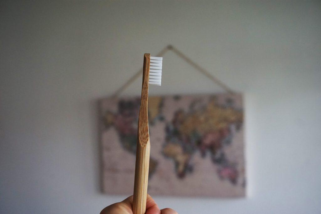 die nachhaltige Bambus Zahnbürste